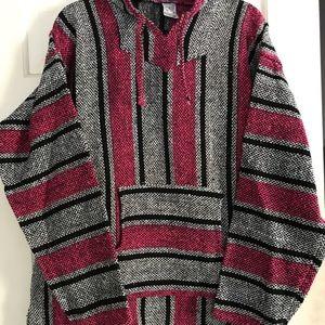Sweaters - Mexican Hoodie/ Drug Rug